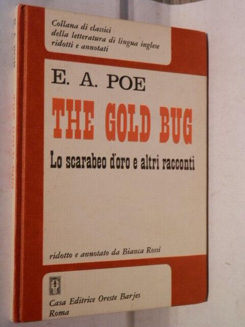 THE GOLD BUG Lo scarabeo d oro e altri racconti E A Poe Barjes 1972 Inglese di