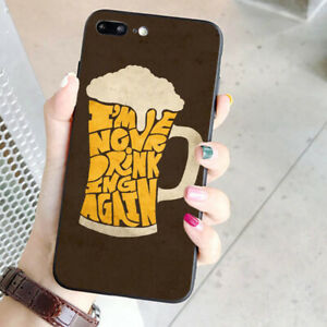 Beer-Shaped-Slim-Shockproof-Hard-Phone-Cover-For-iPhone-Huawei-Samsung-Galaxy-BR
