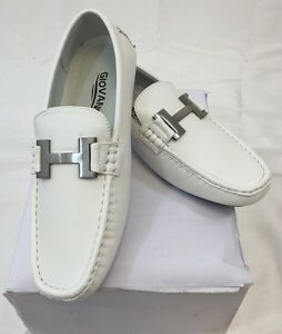 men giovanni dress shoes loafer casual italian style slip on solid