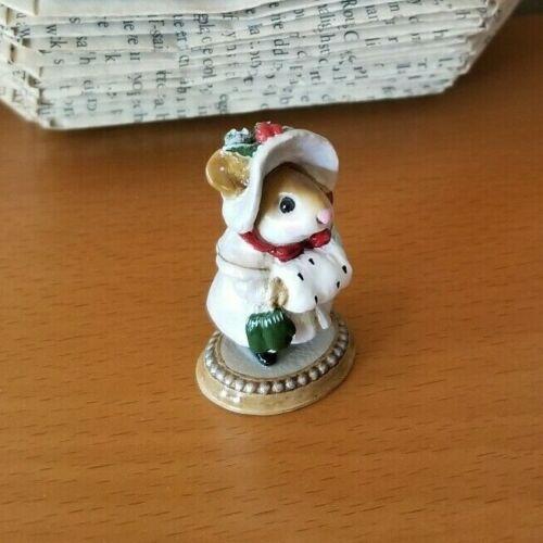 Wee Forest Folk M-146 MISS NOEL Iridescent White Mint