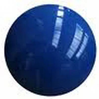 "ORIGINAL BLUE 2"" POOL BALL MAKES IDEAL NOVELTY GEAR KNOB"