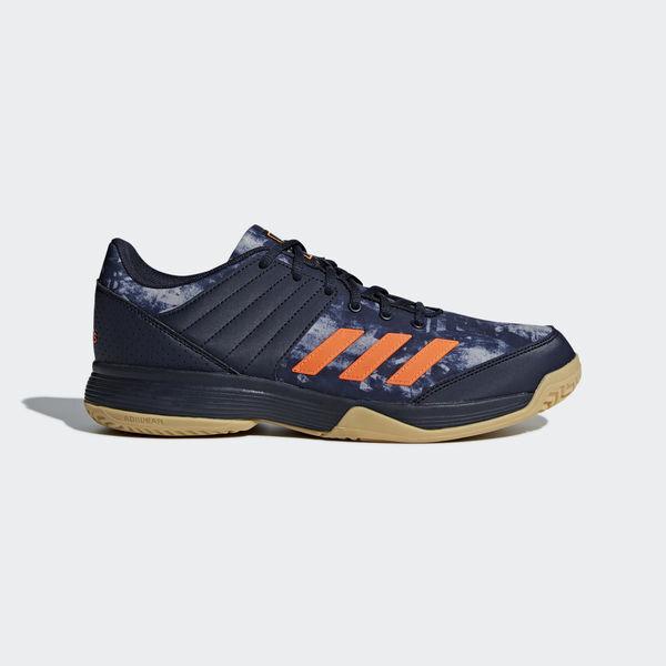 Zapatillas Adidas LIGRA 5 para hombre Zapatillas de voleibol Bádminton Zapatillas azules BB6124