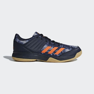 adidas-LIGRA-5-Men-039-s-Indoor-Shoes-Volleyball-Badminton-Shoe-Blue-Sneakers-BB6124