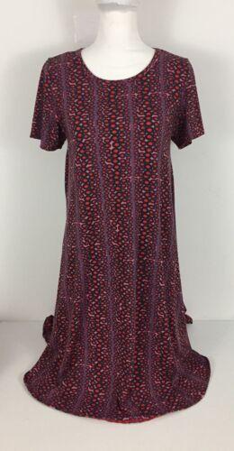 Lularoe Small Dress Geometric Pattern Rare Unicorn
