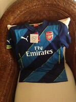 Puma England Arsenal Gunners Soccer/futbol Jersey Size Large Youth