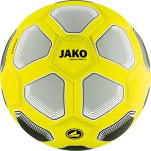 Fußball JAKO Hallenball Indoor Classico 3.0 Filzball Gelb