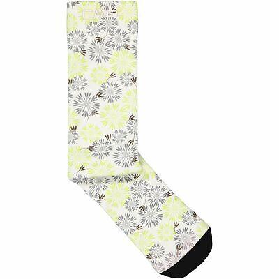 Cmp Calzini Sportivi Printed Trekking Sock Bianco Traspirante Leggero Motivo Floreale-mostra Il Titolo Originale