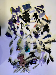 Transformers G1 parts lot weapons accessories Headmaster Targetmaster Monstruct