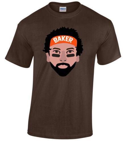 """Baker Mayfield Cleveland Browns /""""FACE/"""" T-Shirt"""