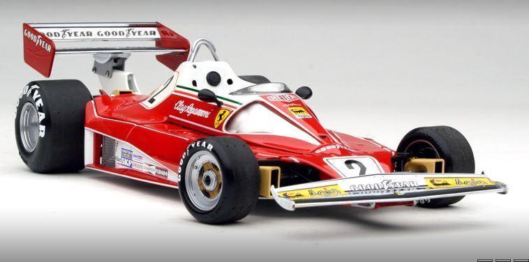 Ferrari 312T2 1976 Regazzoni Exoto 97130 1 18 top detailliert neu in OVP Rarität