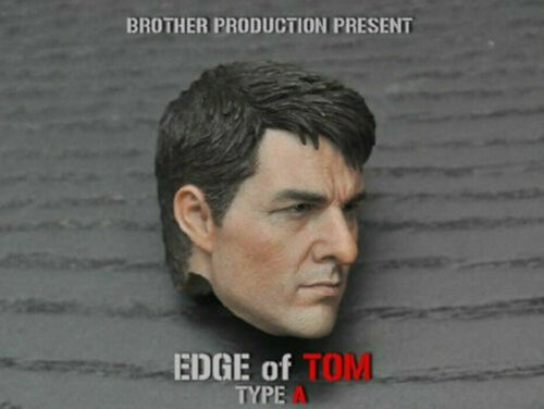 "Brother Production 1:6 Edge of Tomorrow Tom Cruise Male Head Sculpt F 12/"" Figure"