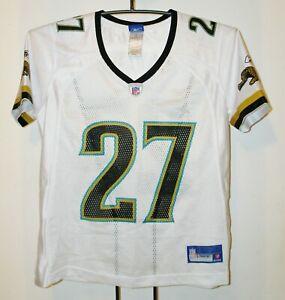 Details about NFL Reebok Jacksonville Jaguars Mathis 27 Jersey Mesh Top T-Shirt Womens Medium