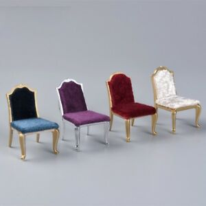 Image is loading 1-X-Miniature-Chair-Seat-DIY-1-25- & 1 X Miniature Chair Seat DIY 1:25 Dollhouse Furniture Finger Toys ...