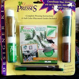 DECORATING-KIT-PRESSES-FERN-DESIGN-complete-unopened-free-gift-w-purchases