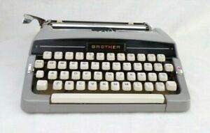 Vintage Brother Typewriter 1963 JP-1 Portable Working Japan