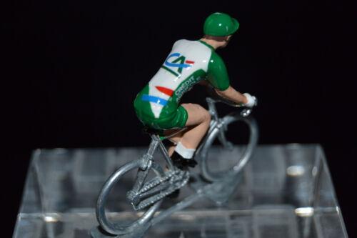 Crédit Agricole Petit cycliste Figurine Cycling figure