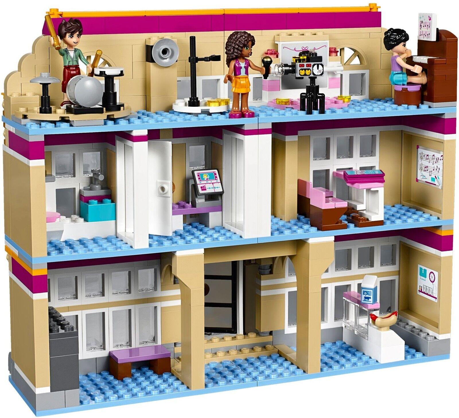 LEGO ® Friends 41134 41134 41134 Heartlake PerforFemmece School Nouveau neuf dans sa boîte NEW En parfait état, dans sa boîte scellée Boîte d'origine jamais ouverte | Good Design  addcaa