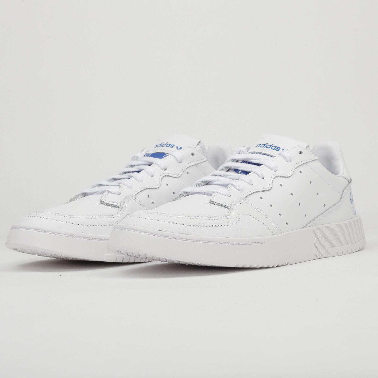 Adidas Supercourt ftwwht   ftwwht   Blaubir US 7.5 (eur 40 2 3), Männer, Weiß