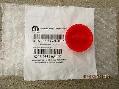 Genuine Mopar Fuel Filler Cap 52029561AA