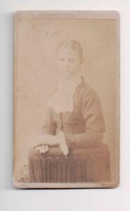 Vintage-CDV-Unknown-Pretty-Young-Girl-Civil-War-Era
