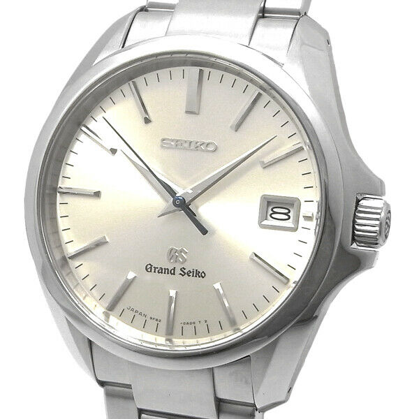 Free Shipping Pre-owned Grand Seiko SBGV019 9F82-0AE0 Limited Watch Silver Dial