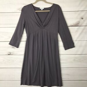 Garnet Hill Dress Small Dark plum Stretchy