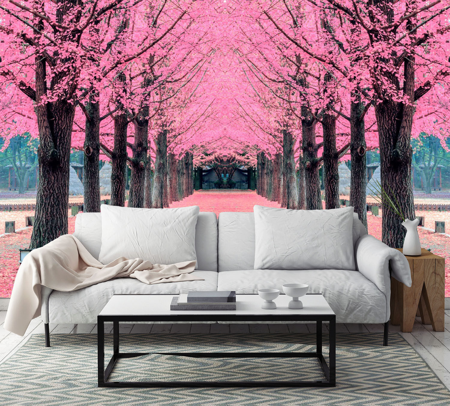 3D Gorgeous Forest Tree Art 283 Wall Paper Wall Print Decal Wall AJ WALLPAPER CA