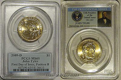 2008 P/&D Pos A/&B PCGS MS66 MS65 FDI Jackson Dollar Set