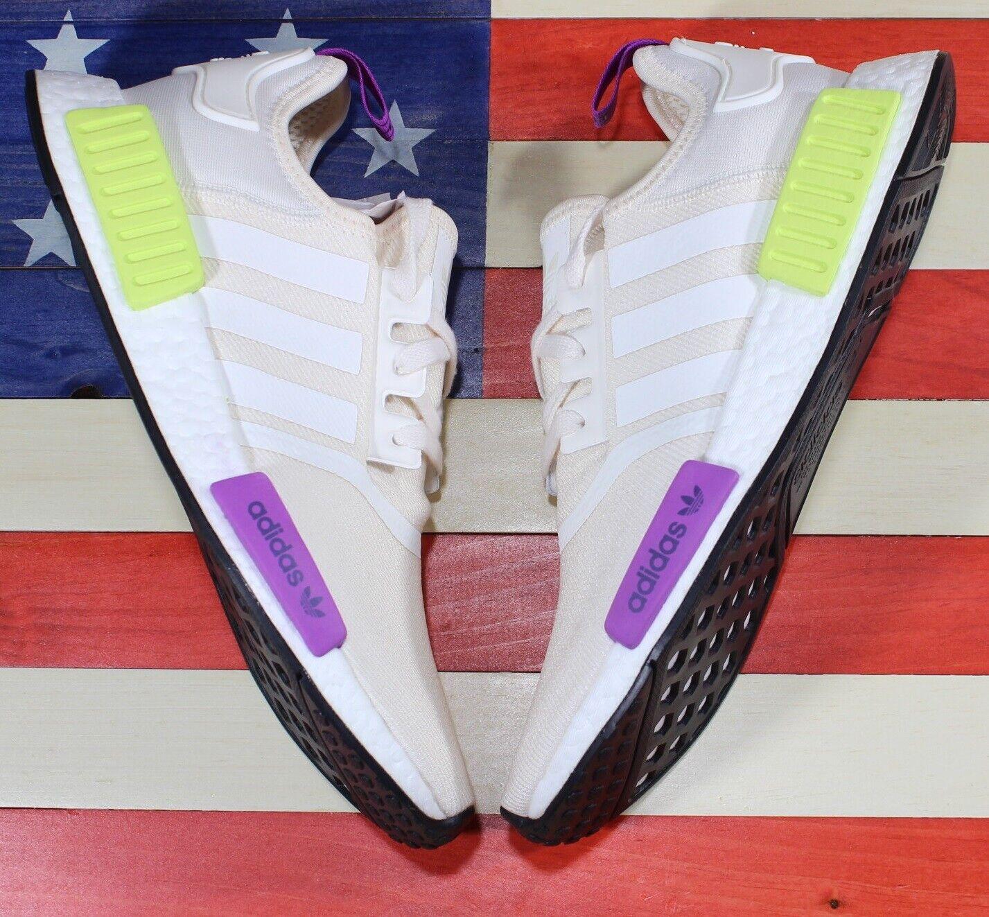 Adidas Originals Nmd R1 Boost Zapatillas Running Hombre blancoo Solar-amarillo