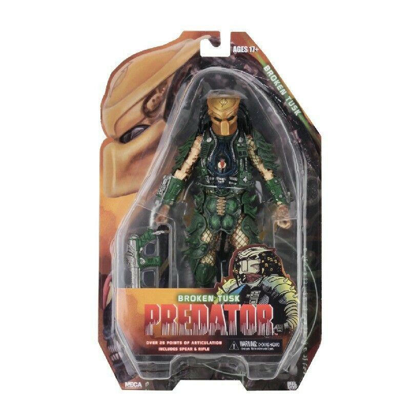 Neca - Protators Series 18 - 7  Broken Tusk Protator Action Figure - New