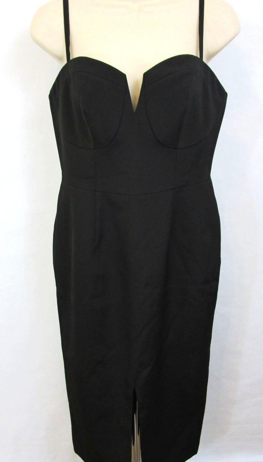 YUMI KIM damen Show Shopper Midi Pencil Dress Größe Medium Little schwarz Dress