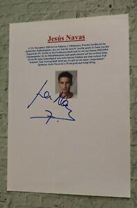 ORIGINAL-Autogramm-von-Jesus-Navas-pers-gesammelt-DIN-A4-Kartei-100-ECHT-WM