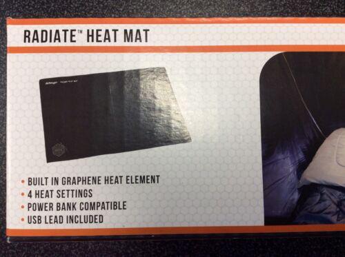 Sleeping Bag Radiate Heat Mat USB /& Power Bank Compatible