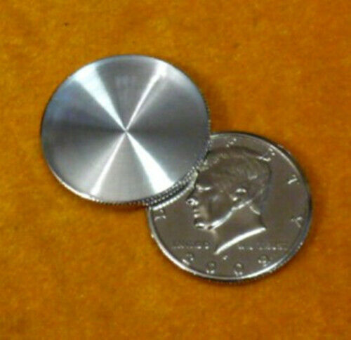 Head Expanded Shell Half Dollar Magic Tricks Appearing Vanish Coin Magic Fun