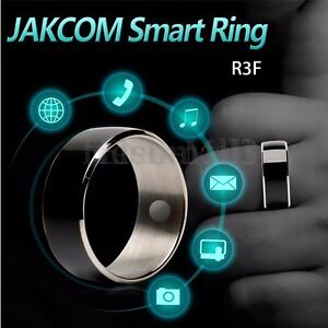 Details about JAKCOM R3F Black NFC Magic Wearable Smart Ring For Android  iPhone Mobile Phone