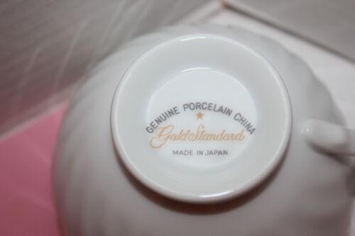 GOLD STANDARD PINK GRAY PLATINUM TRIM SOUP BOWL  EXCELLENT