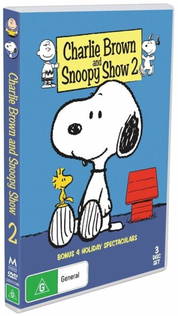 Charlie Brown And Snoopy : Collection 2 ( DVD , 3 Disc Set ) Brand New! Region 4