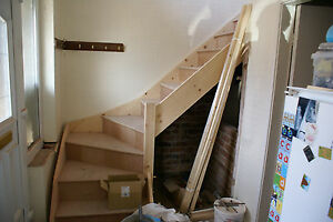Made To Measure 3 Kite Winder Staircase Kit L Shape Ebay