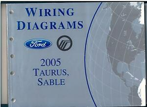 details about ford taurus mercury sable wiring diagrams ~ 2005 ~ 2002 ford taurus wiring diagram mercury sable wiring diagram #7