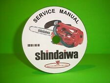 Shindaiwa Chainsaw Factory Service Manual Models 300-757(see listed models)