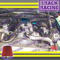 92-95 Chevy S10 Xtreme Blazer Sonoma Jimmy Bravada 4.3l V6 Air Intake Black Red2