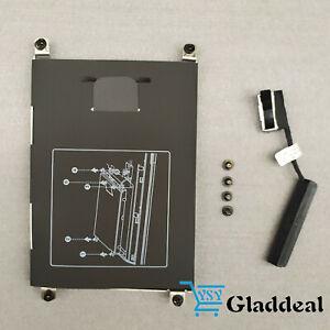 NEW-HP-ProBook-640-645-650-655-G1-Hard-Drive-Caddy-Bracket-w-Screws-Connector