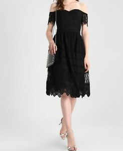 8d7ed4429e1 Chi Chi London Tall ROUGIA - Day Dress - Black -Price £161.78 (A 106 ...