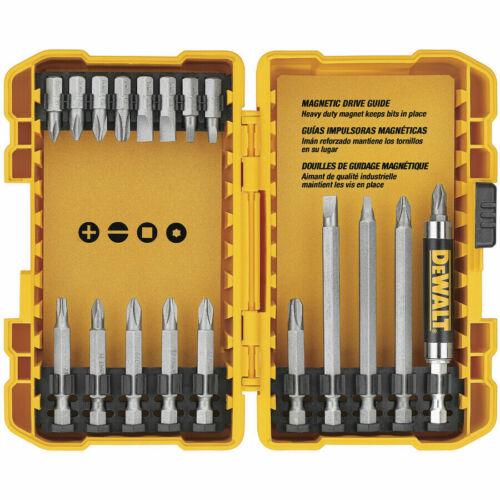 Brand New DEWALT 100-Piece Shank Screwdriver Drill bit 4 Combo Tool Set