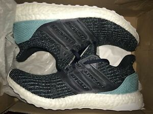 80f260c0578f ADIDAS ULTRA BOOST 4.0 Men 8.5 US Parley Ocean Carbon Blue Shoes New ...