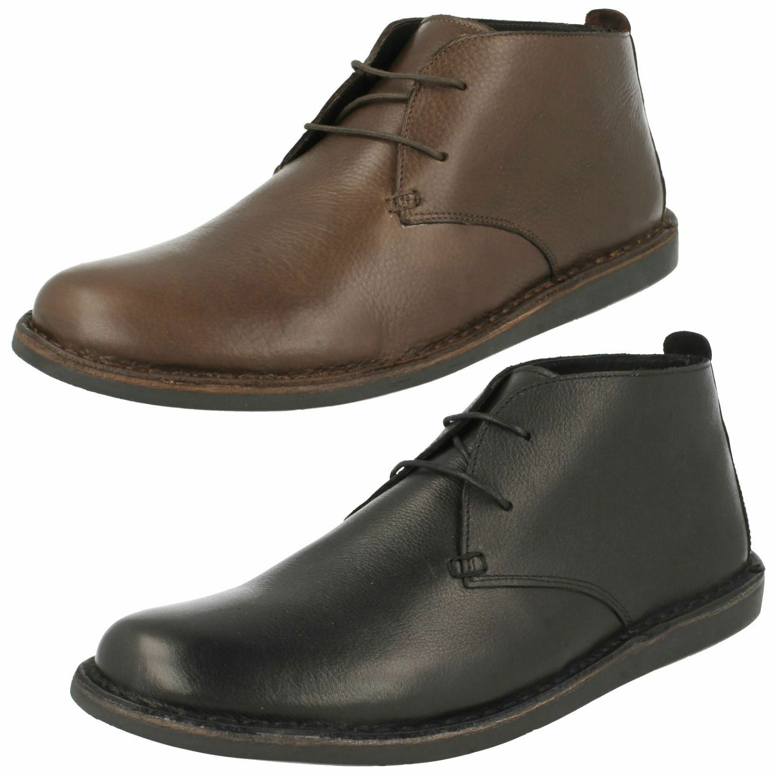 Mens Padders Lace Up Ankle Boots Judd