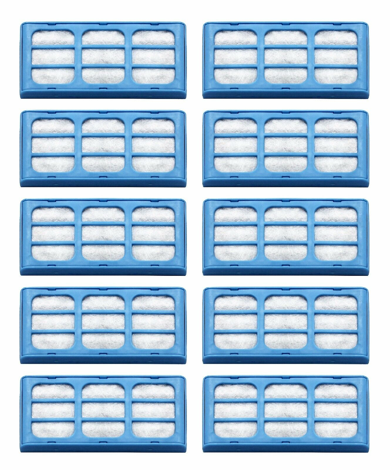 Replacement Water Filter Cartridges for Cat Mate & Dog Mate Fountains - 10 Pack