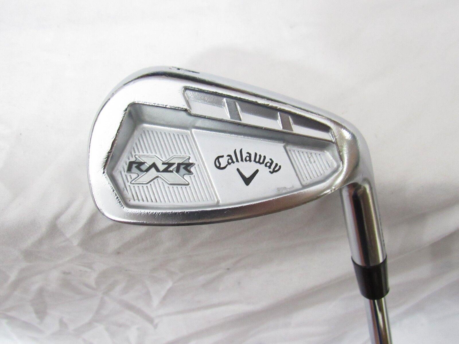 Callaway Razr  X usado mano derecha Forjado Gap una cuña Titleist BV Cuña de Acero Flex w-Flex  forma única