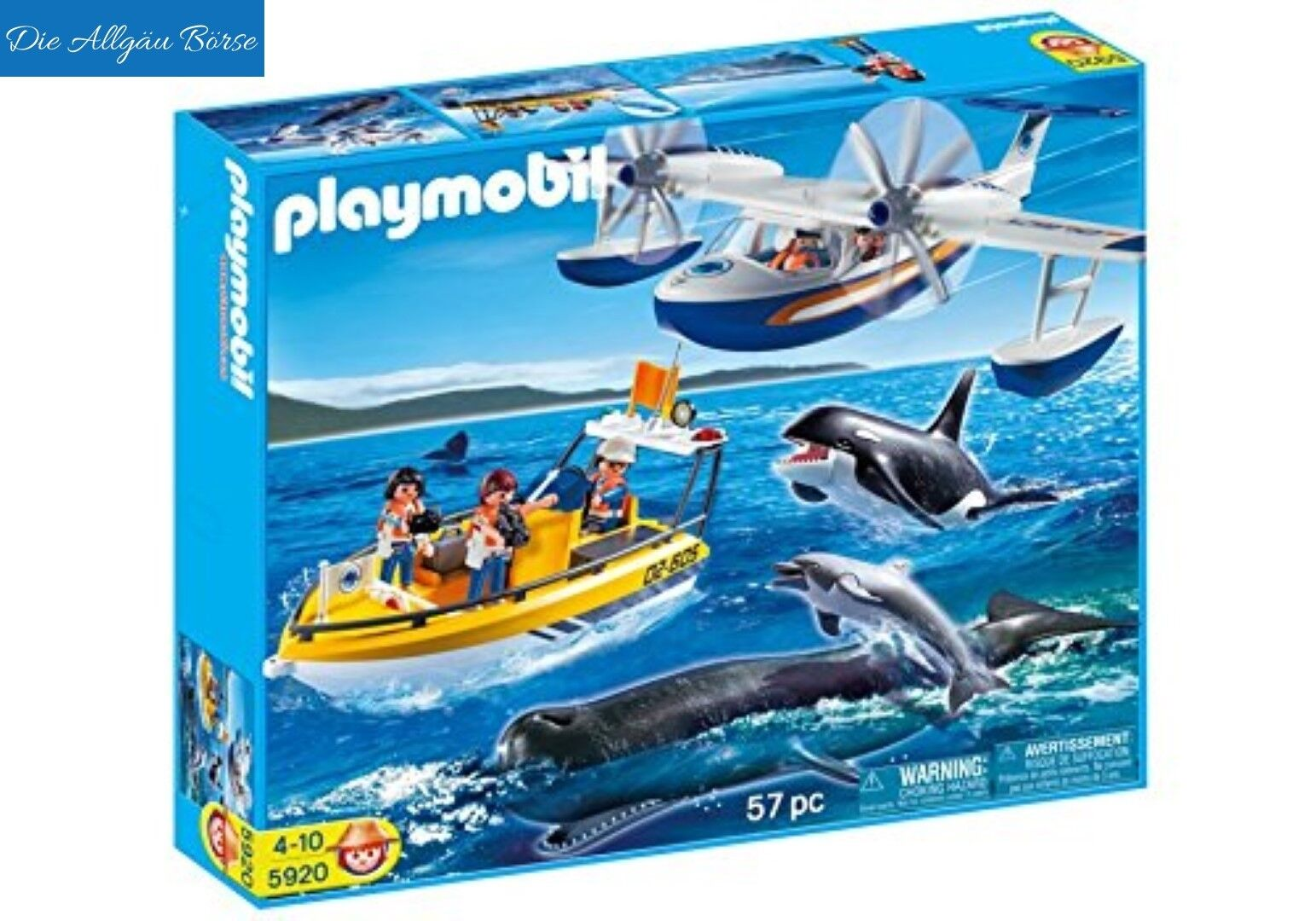 Playmobil 5920 Wal-Beobachtung Meeres-Expedition City Action Sonder-Set Neu OVP