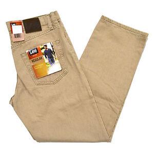 Lee Jeans Mens Regular Fit Dune Straight Leg Men Classic Fit Light ...